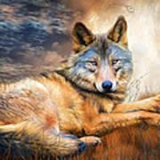 Wolf - Spirit Of Truth Art Print