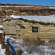 Wolfe Ranch Cabin Arches National Park Utah Art Print