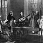 Wolfgang Amadeus Mozart (1756-1791) Art Print
