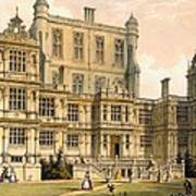 Wollaton Hall, Nottinghamshire, 1600 Art Print