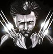 Wolverine Art Print by Kim Lagerhem