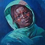 Woman From Darfur Art Print