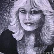 Woman Portreit Art Print