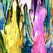 Woman Power Diptych 02 Art Print