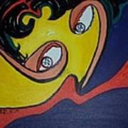 Woman20 Art Print