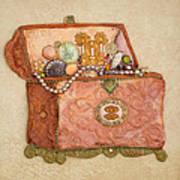 Womans Treasures Art Print