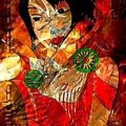 Women  0361 - Marucii Art Print
