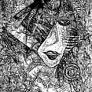Women 0537 - Marucii Art Print
