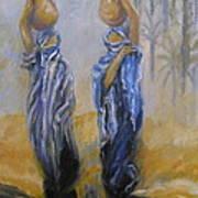Women And Water Art Print
