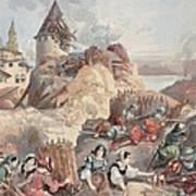 Women At The Siege Of Marseille Art Print