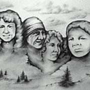 Women Who Rock Art Print