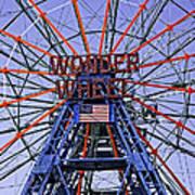 Wonder Wheel 2013 - Coney Island - Brooklyn - New York Art Print
