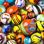 Wonderful Marbles Art Print