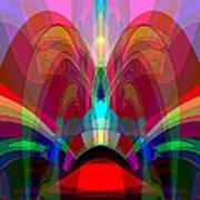 612 - Wondrous Machine Outburst  Art Print
