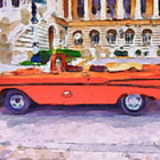 Wonna Ride This Car Print by Yury Malkov