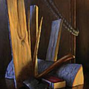Wood Box Art Print by Timothy Jones
