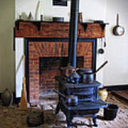 Wood Burning Stove Art Print