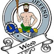 Wood Clan Badge Art Print