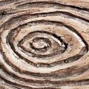 Wood Patterm Art Print