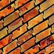 Wood Texture Art Print