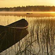 Wooden Boat Art Print by Veikko Suikkanen