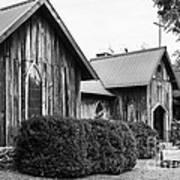 Wooden Country Church 2 Art Print