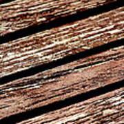 Wooden Deck Art Print