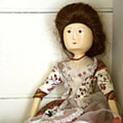 Wooden Doll Print by Margie Hurwich