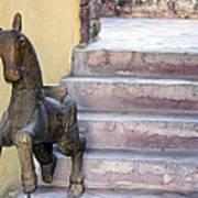 Wooden Horses 2 Art Print