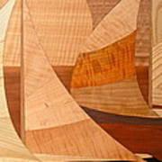 Wooden Ships Art Print