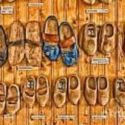Wooden Shoes Art Print