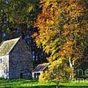 Woodhouses Bastle Northumberland - Photo Art Art Print