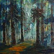 Woodland At Wilsonia 02 Art Print