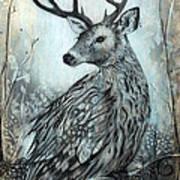 Woodland Fable Art Print