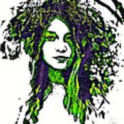 Woodland Faerie Art Print