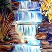 Woodland Oasis Art Print