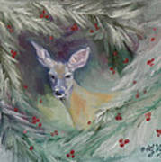 Woodland Spirit Art Print