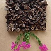 Woodpile Plus Art Print