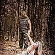 Woods Of Terror Art Print