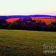 Woodstock - Farm - Yasgurs Art Print