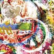 Woodstock Original Painting Print  Art Print