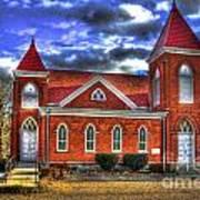 Woodville Baptist Church 2 Art Print