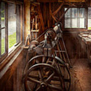 Woodworker - The Art Of Lathing Art Print