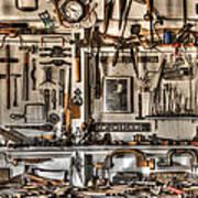 Woodworking Tools Art Print