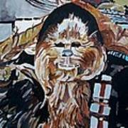 Wookiees Are Known To Do That Art Print