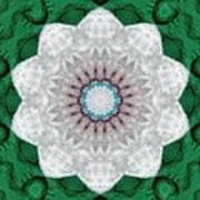 Wool Felt Kaleidoscope Art Print