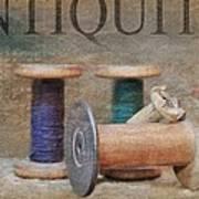 Woolrich Woolen Mill Spools Art Print