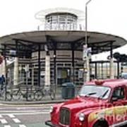 Woolwich Arsenal Train Station  Art Print