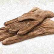 Work Gloves Art Print by Danny Smythe