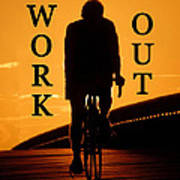 Work Out Vertical Work One Art Print
